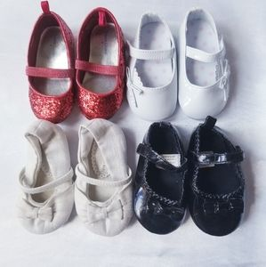 Toddler Girls Mary Janes - Size 3 & 4
